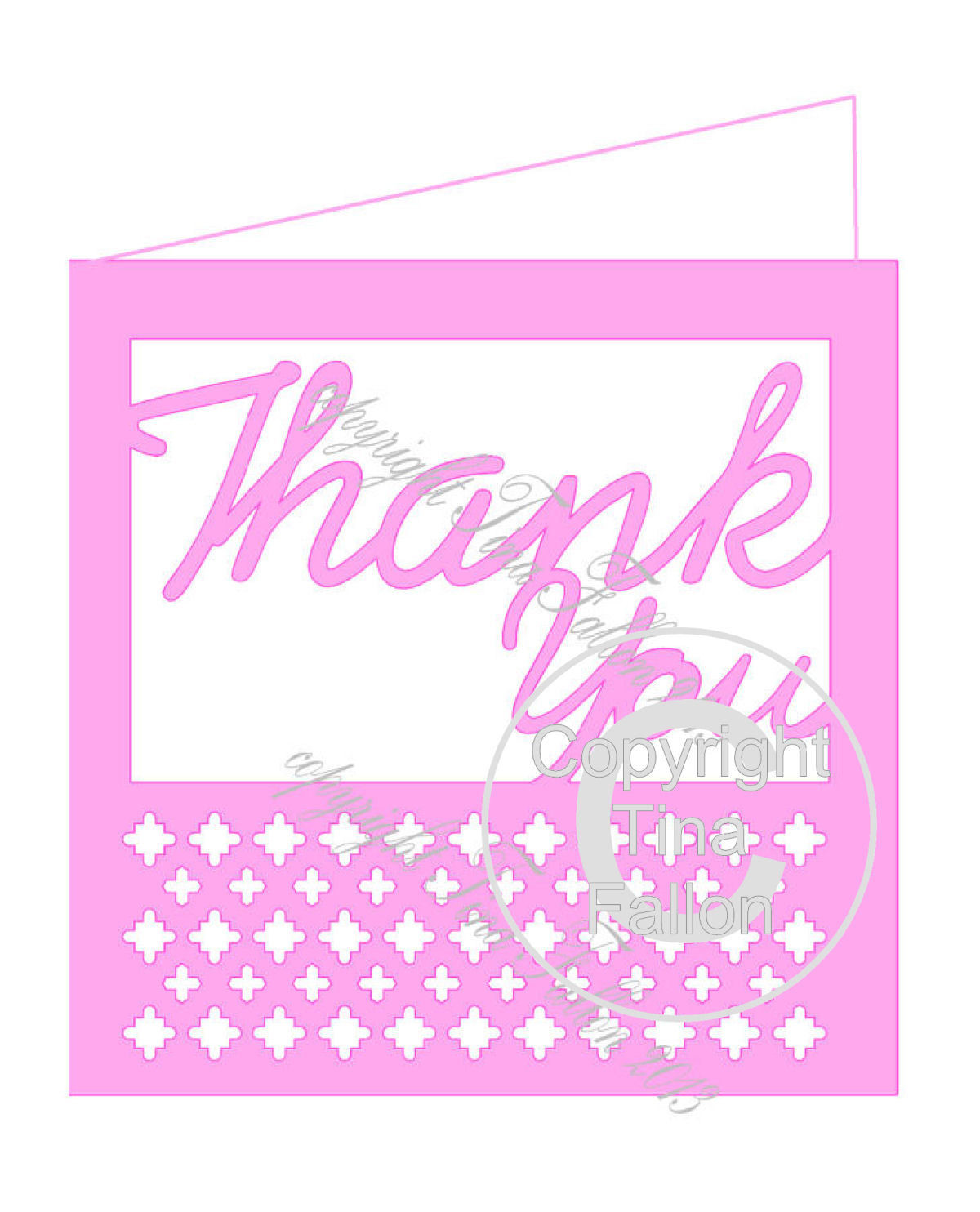 Thank You Card Template No2
