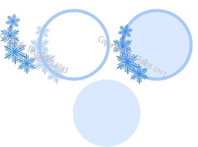 Frosty Kissed Snowflake 1  Topper