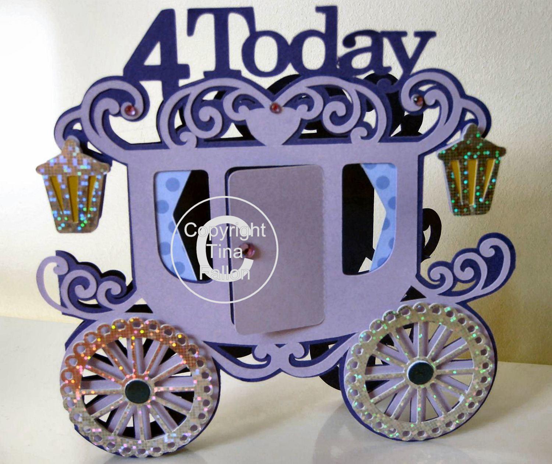 Princess Carriage 4 today Card Template