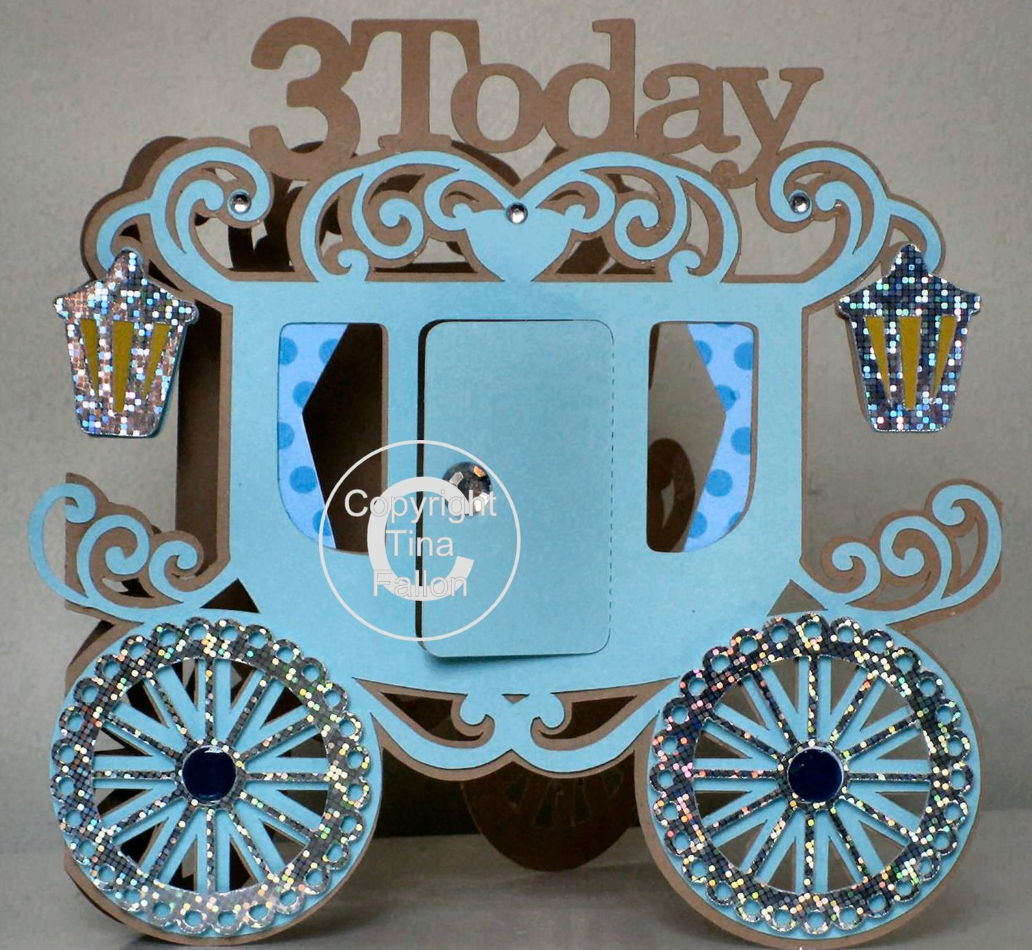 Princess Carriage 3 today Card Template