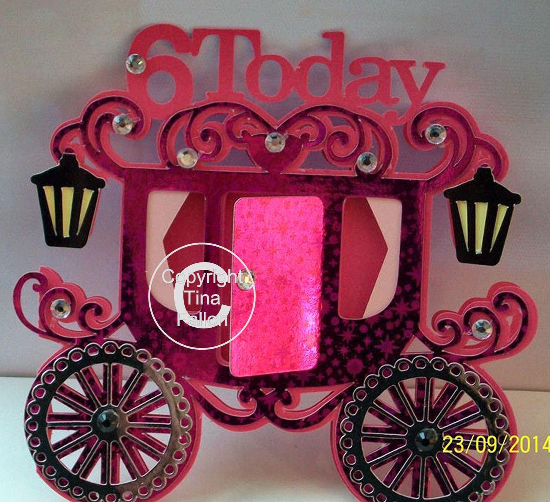 Princess Carriage 6 today Card Template
