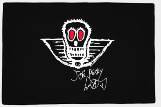 OFFICIAL JOE PERRY BONEYARD DOOR MAT