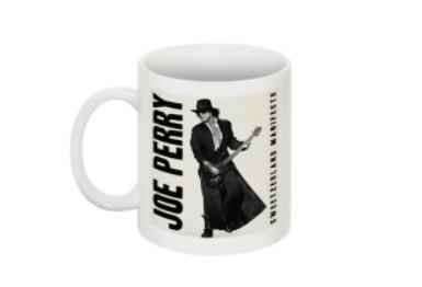 JOE PERRY SWEETZERLAND MANIFESTO  COFFEE MUG CERAMIC