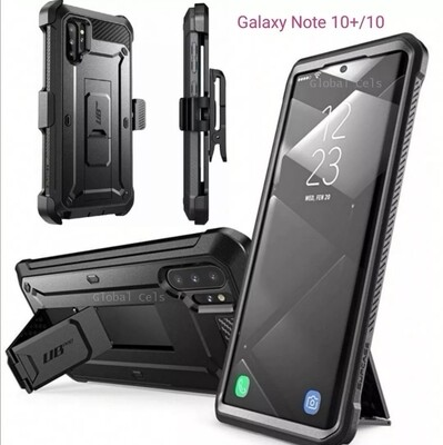 Case Galaxy Note 10 Plus / Note 10 Super Protector c/ Gancho c/ Parador Funda 360°