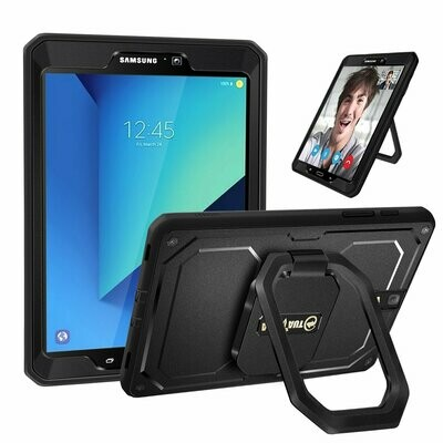 Case Samsung Galaxy Tab S3 9.7 Funda 360 Rotatorio Multi-Funcional Grip (SM-T820) 2017 Carcasa Shockproof