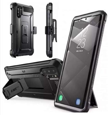 Case Galaxy Note 10 Normal Protector c/ Gancho Funda 360° c/ Parante Vertical y Horizontal