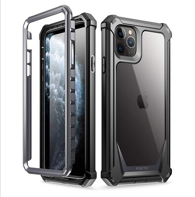 Case Clear Iphone 11 Pro Max 6.5 Funda 360° c/ Mica Integrada - Transparente