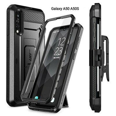 Case Galaxy A50 A50S c/ Clip Correa Gancho c/ Parador Integrado de Alta calidad