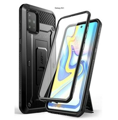 Case Protector Galaxy A51 Extremo c/ Gancho Correa c/ Mica Integrada