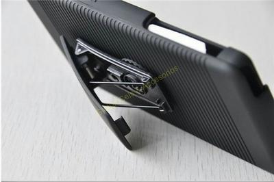 Estuche Holster para Sony Xperia Z2 con clip para correa y soporte para mesa