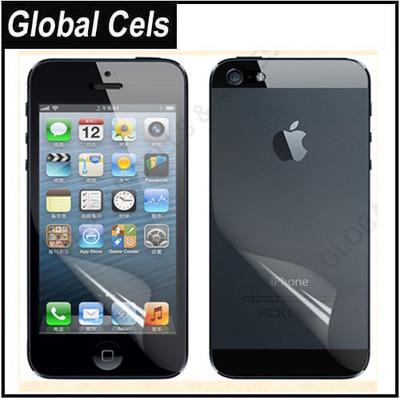 Protector de pantalla iPhone 5 de Alta Transparencia Antideslizante Adelante y Atrás