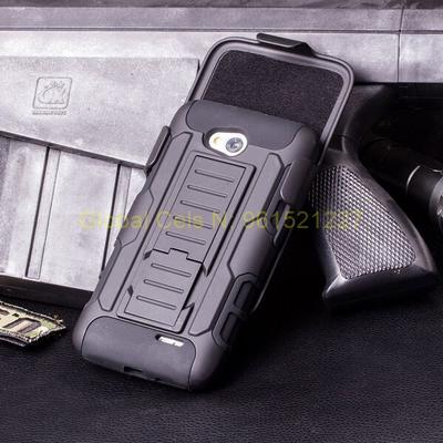 Case Holster Gorila LG L70 con Soporte para mesa y gancho para correa Case de 3 partes