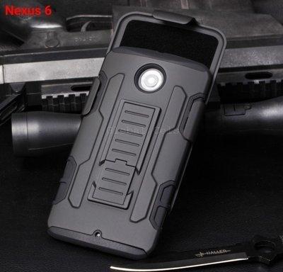 Case Holster Nexus 6 Carcasa Armor con Gancho y Parante