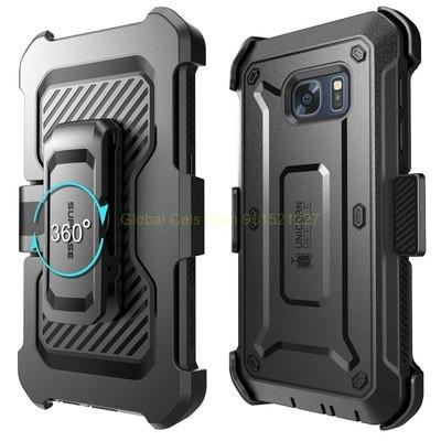 Protector Samsung GALAXY S7 NORMAL Case Armadura Supcase PRO con Gancho y Mica Integrada