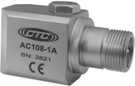 AC108 Series High Temperature Accelerometer, Side Exit Connector/Cable, 100 mV/g