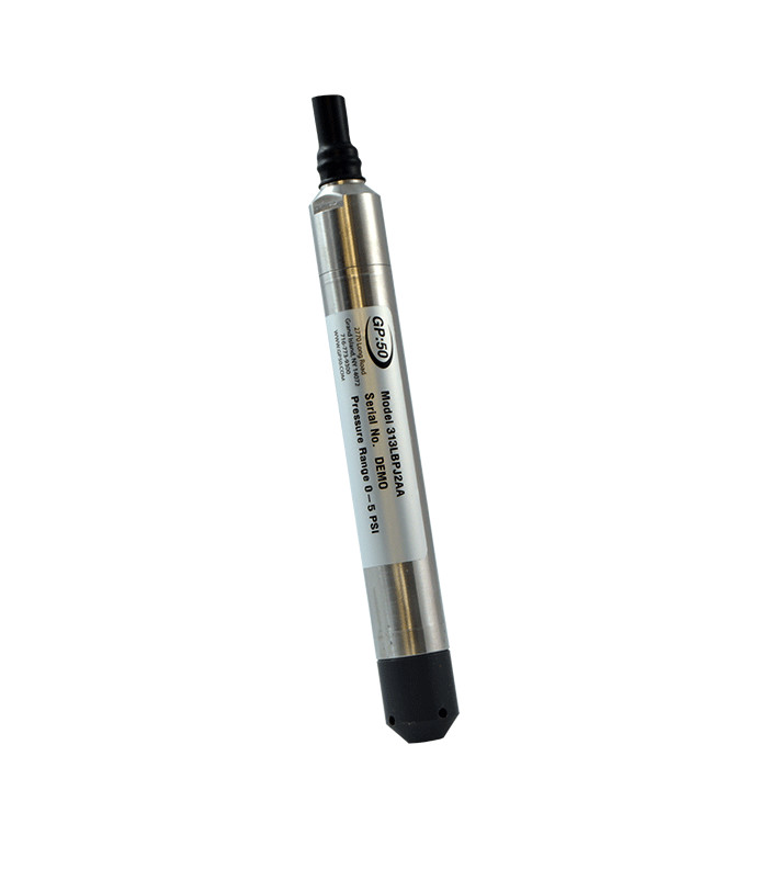GP:50 Submersible/Level Pressure Transducer/Transmitter Model 313L