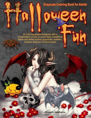 Halloween Fun Coloring Book for Adults Digital Download