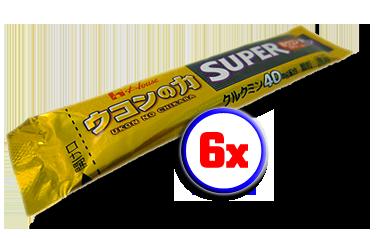 6x Super Ukon No Chikara (40mg)