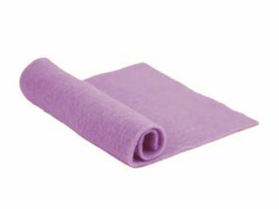 Merino Wool Pre-Felt -- Lilac
