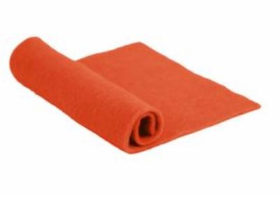 Merino Wool Pre-Felt -- Orange