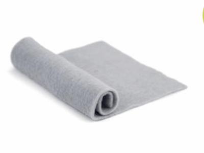 Merino Wool Pre-Felt -- Silver