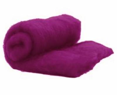 Perendale Wool  -- Carded Batt --  Boysenberry