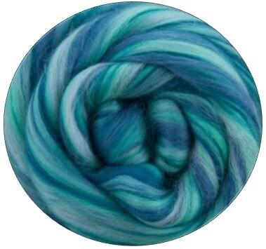 Fine Merino Wool Roving --NEW! Serenity