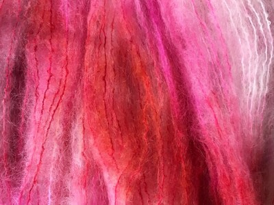 Mohair Yarn -- Valentina NEW for Valentine's Day!!