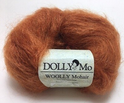 Dolly Mo Woolly Mohair -- Ginger