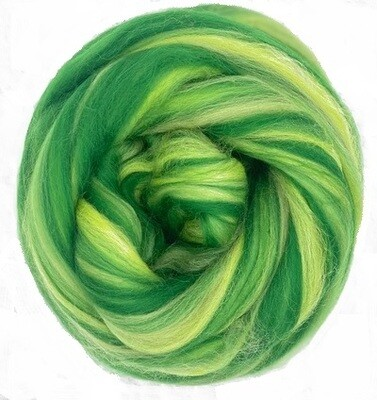 Fine Merino Wool Roving -- NEW! Forest