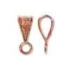 4mm Copper Plated Bail-- $0.49