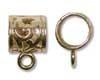 7mm Fancy Brass Bail -- $2.95