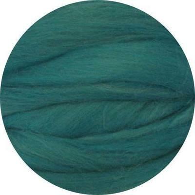 Fine Merino Wool Roving -- Bluegreen