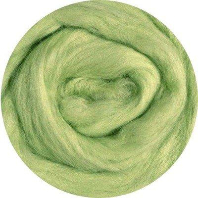 Fine Merino Wool Roving -- Chartreuse