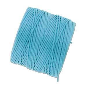 S-LON Superlon Bead Cord -- Aqua