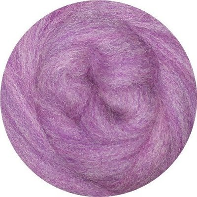 EcoSoft Wool Roving -- Lilac