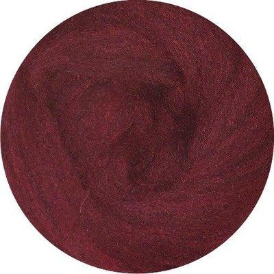 EcoSoft Wool Roving -- Wine