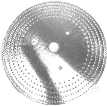 EZ Index Segmented Wheel Steel 12in dia for a 1-1/4in spindle for Woodturning