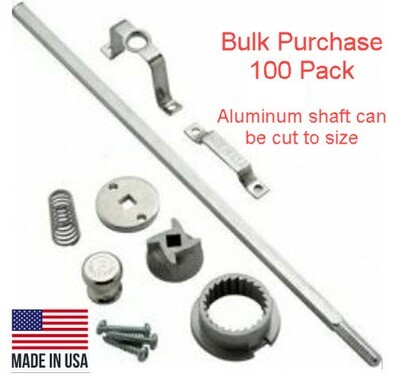 Pepper mill kit with Stainless Steel Grinder American Made (Bulk Purchase)