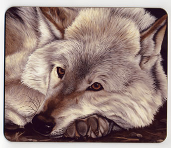 Wolf. Placemat