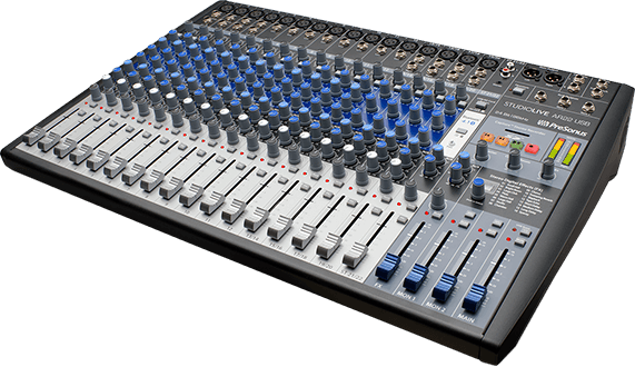 Presonus AR22 USB 22-channel hybrid performance and recording mixer