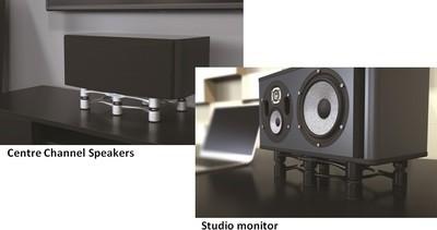 IsoAcoustics Aperta 200 Sculpted aluminum acoustic isolation stands