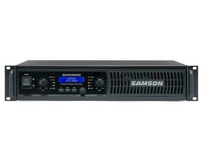 #最後一件 #全新 SAMSON SXD3000 - Power Amplifier with DSP