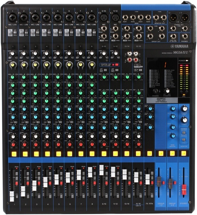 Yamaha MG16XU  16-Channel Mixing Console