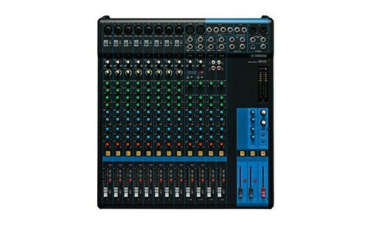 Yamaha MG16 (16 channel mixer)