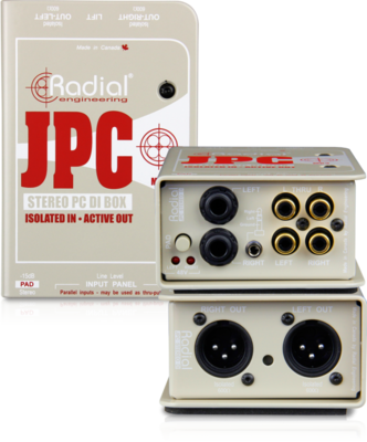 Radial JPC di box