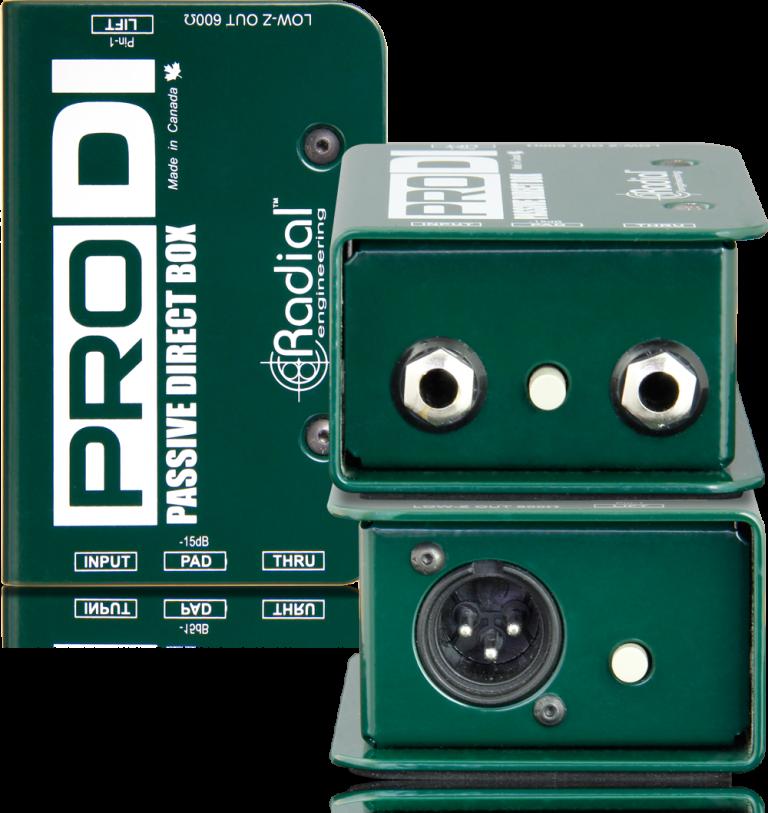 Radial ProDI Passive Direct Box