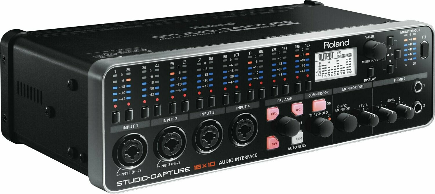 ROLAND STUDIO-CAPTURE UA1610 (USB 2.0 Audio Interface 錄音介面)