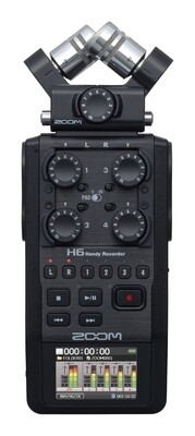 Zoom H6 BLACK 手提錄音機 professional recorder