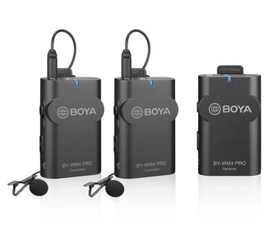 BOYA BY-WM4 Pro k2 (2.4G 無線拍攝收音咪)